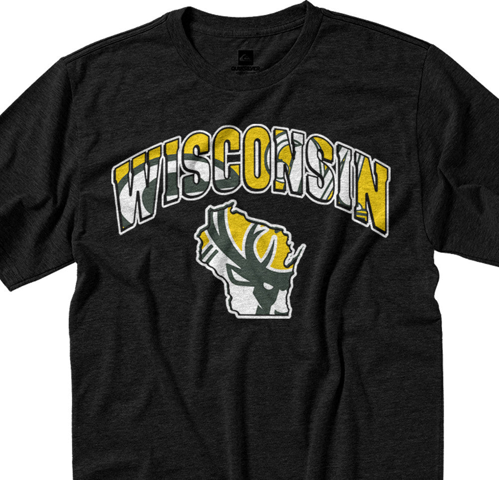 Wisconsin City Mash Up Tee