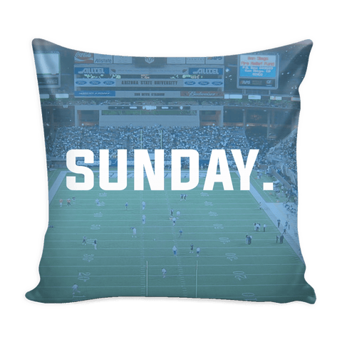 San Diego Sunday Football Pillow Cover - societyofprints - Society of Prints - Pillows