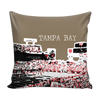 Image of Tampa Bay Stencil Pillow Covers - societyofprints - Society of Prints - Pillows