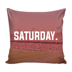 Stanford Saturday Football Pillow Cover - societyofprints - Society of Prints - Pillows