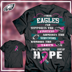 Eagles Breast Cancer Awareness Shirt - societyofprints - Society of Prints - shirts