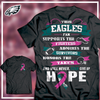 Image of Eagles Breast Cancer Awareness Shirt - societyofprints - Society of Prints - shirts