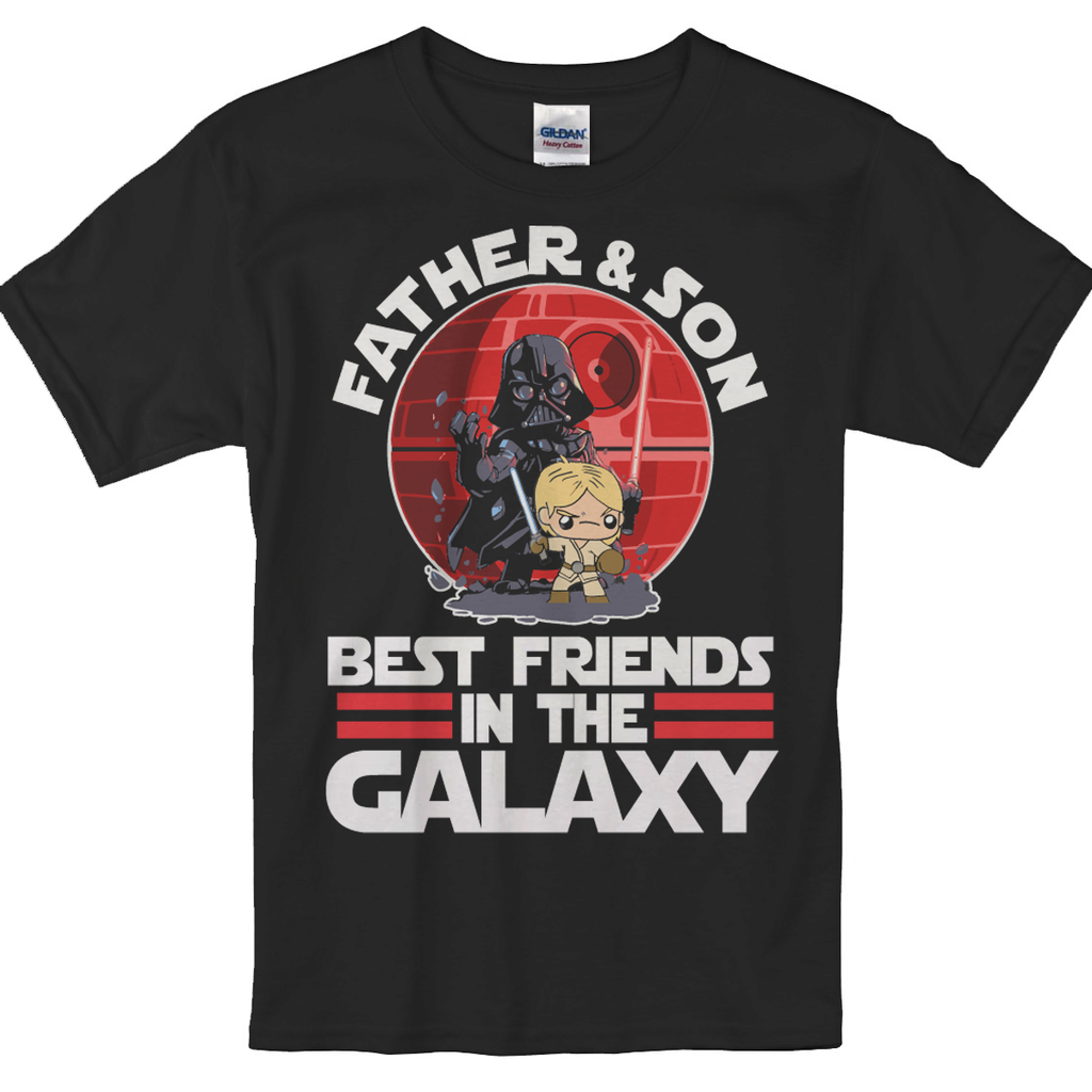 Father & Son - Best friends in Galaxy - societyofprints - Society of Prints -