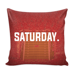 Los Angeles Saturday Football Pillow Cover - societyofprints - Society of Prints - Pillows