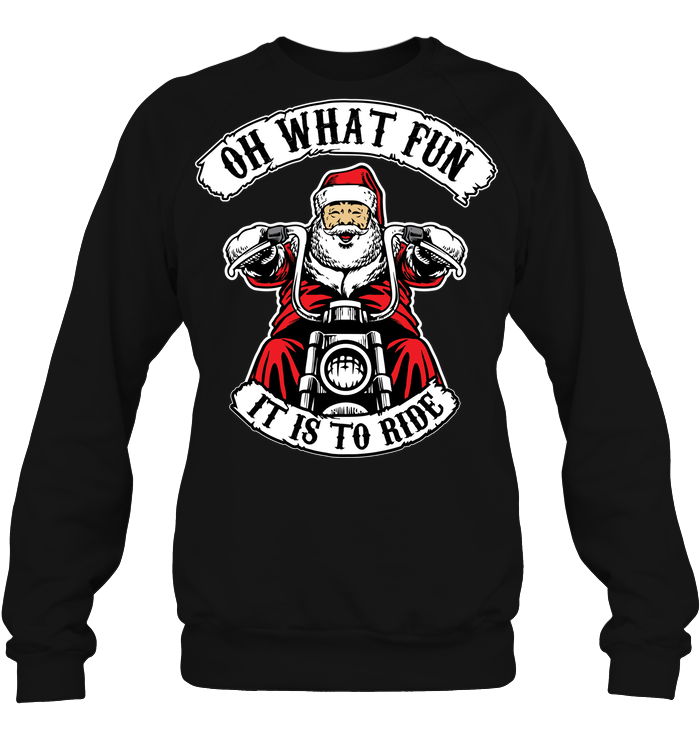 Biker Christmas - societyofprints - Society of Prints - Apparel