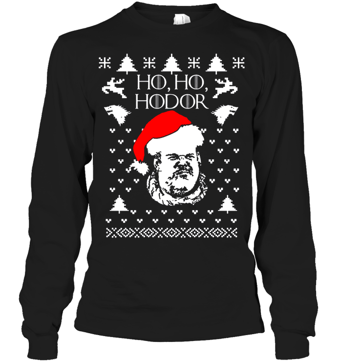 HO HO HODOR - Limited Edition! - societyofprints - Society of Prints - Apparel