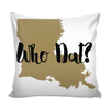 Image of New Orleans Stencil Pillow Covers - societyofprints - Society of Prints - Pillows
