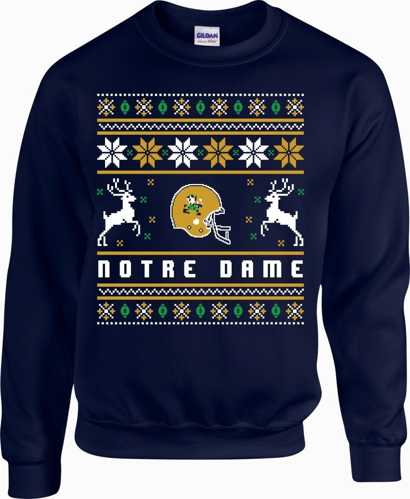 Limited Edition Notre Dame Ugly Christmas - societyofprints - Society of Prints - shirts