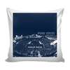 Image of Penn State Stencil Pillow Covers - societyofprints - Society of Prints - Pillows
