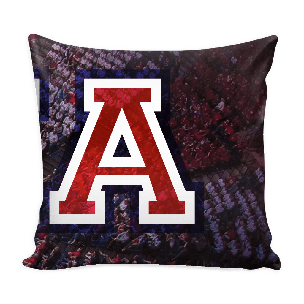 Tucson Panoramic Stadium Pillow Covers - societyofprints - Society of Prints - Pillows