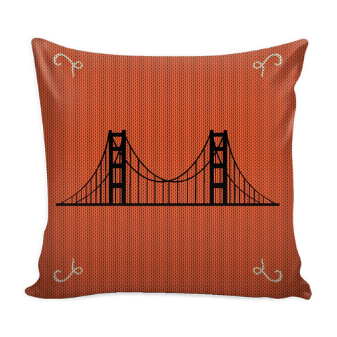 San Francisco Christmas Mix & Match Pillow Covers - societyofprints - Society of Prints - Throw Pillow