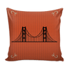 Image of San Francisco Christmas Mix & Match Pillow Covers - societyofprints - Society of Prints - Throw Pillow