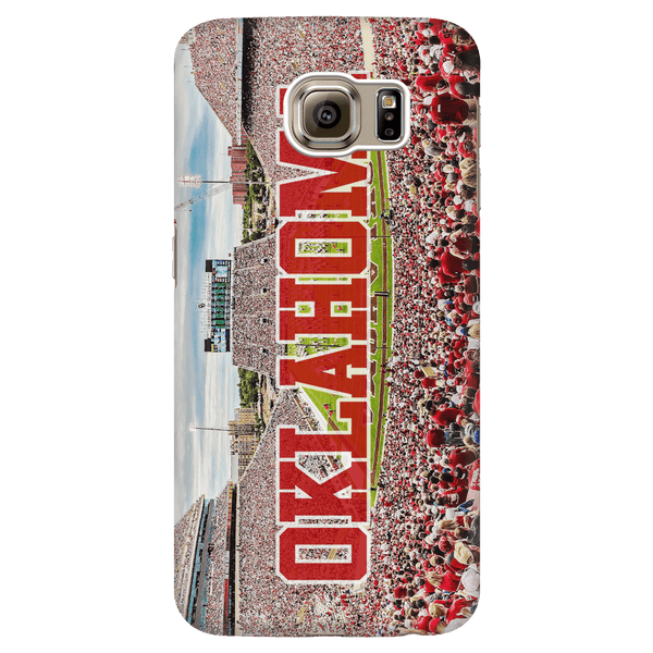 Oklahoma Panoramic Phone Case - societyofprints - Society of Prints - Phone Cases