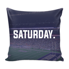 Seattle Saturday Football Pillow Cover - societyofprints - Society of Prints - Pillows