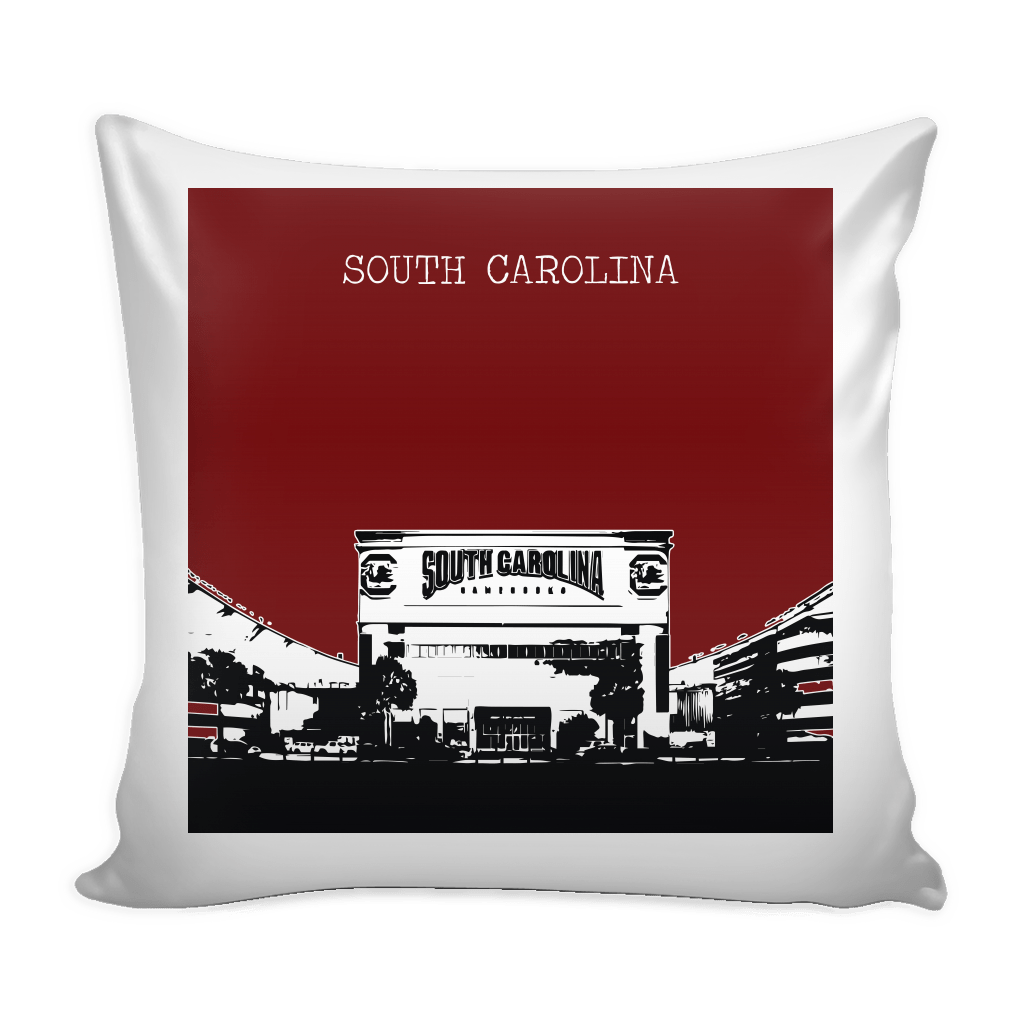 South Carolina Stencil Pillow Covers - societyofprints - Society of Prints - Pillows