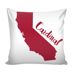 Stanford Stencil Throw Pillow Covers