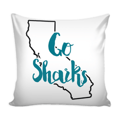 San Jose Stencil Throw Pillow Covers
