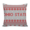 Image of Ohio State Christmas Mix & Match Pillow Covers - societyofprints - Society of Prints - Throw Pillow