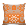 Image of Oklahoma State Christmas Mix & Match Pillow Covers - societyofprints - Society of Prints - Throw Pillow