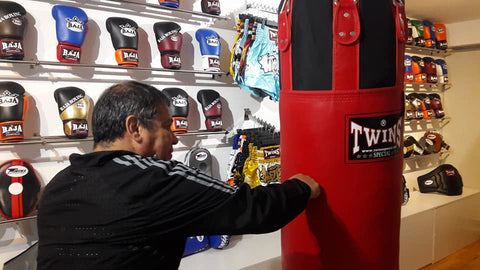 Miguel Masías, Sacos Twins- Blog Fighter Store perú