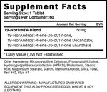 Abnormal Blackstone Labs Nutrition Label