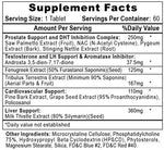 Arimiplex PCT Hi-Tech Pharmaceuticals Nutrition Label