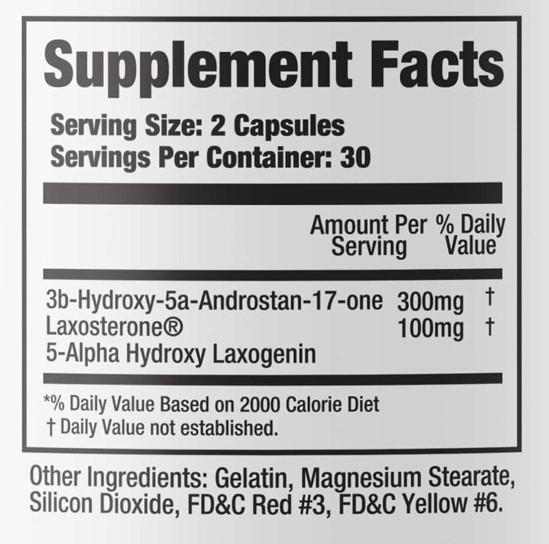 CycleVar Phase One Nutrition Nutrition Label