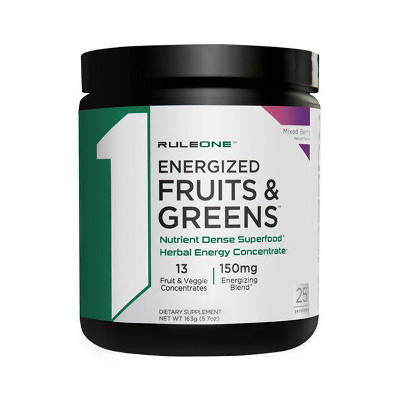 Energized Fruits & Greens Rule 1
