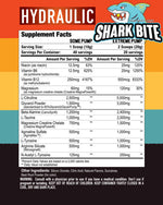 Hydraulic Axe & Sledge Supplements Nutrition Label