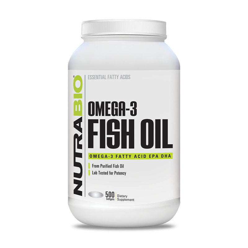 Omega 3 Fish Oil (250 servings)