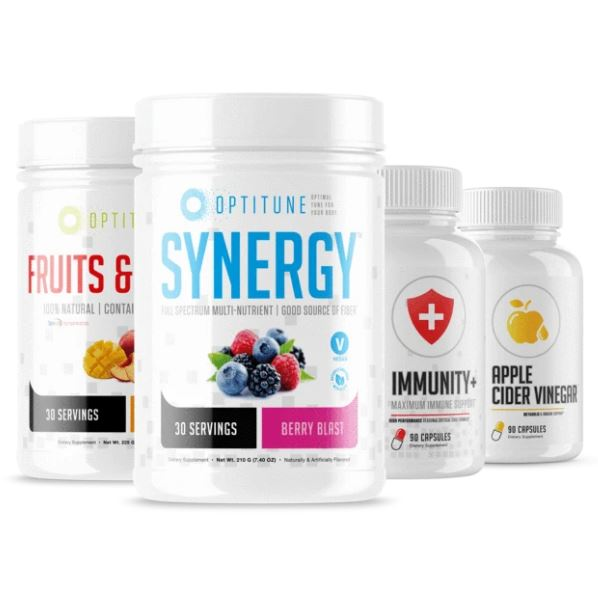 Immunity Bundle (Fruits & Greens + Synergy + Immunity + Apple Cider Vinegar)