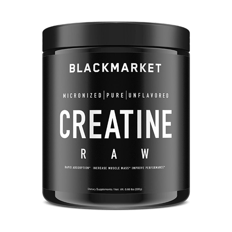 Raw Creatine Blackmarket Labs