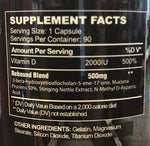 Rebound Supplement Facts