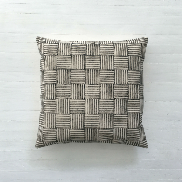 Hatch Print Cushion Cover