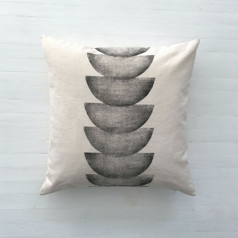 Semicircles Print Cushion Cover