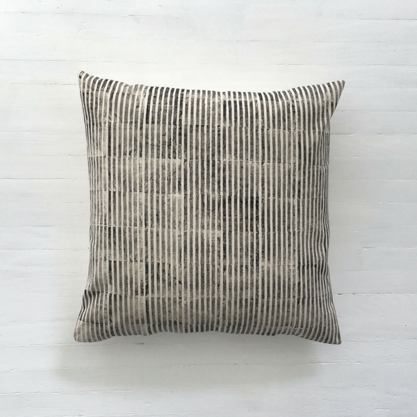 Stripe Print Cushion Cover