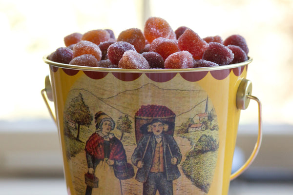 Pate de Fruit in tin pale - Artisanal fruit jellies - Sold out /back in stock October 1st Candy- La Riviere Confiserie