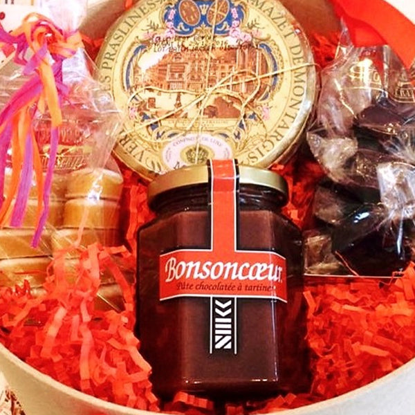Gift Baskets Candy- La Riviere Confiserie