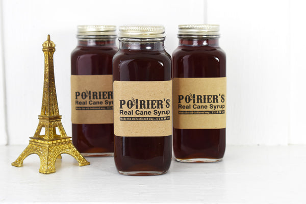 Poirier's Real Cane Syrup Savory- La Riviere Confiserie