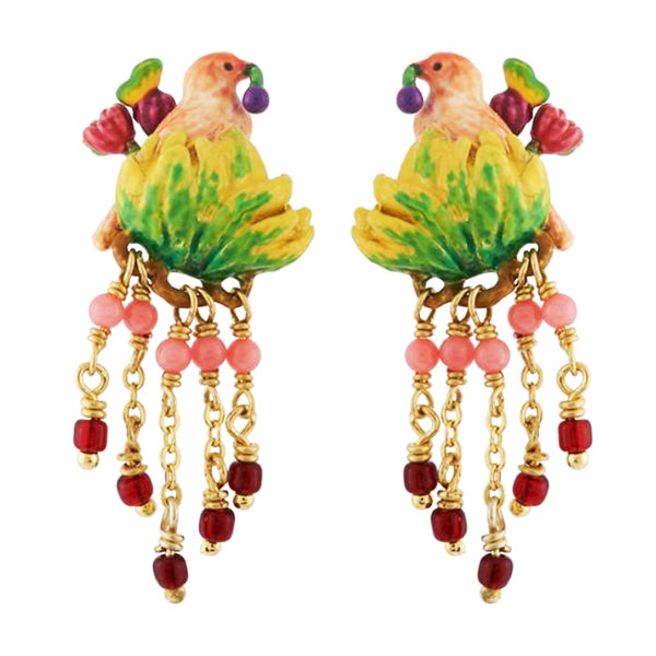 Les Nereides Lovely Canaries Earrings - La Riviere Confiserie