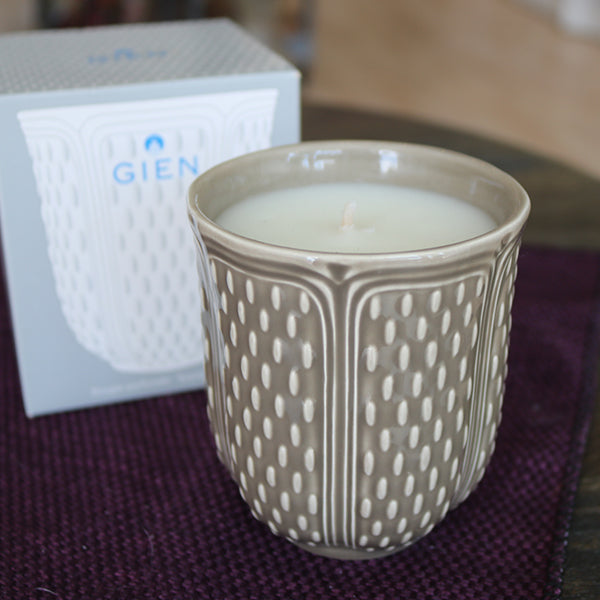Gien Candle (Taupe) - La Riviere Confiserie