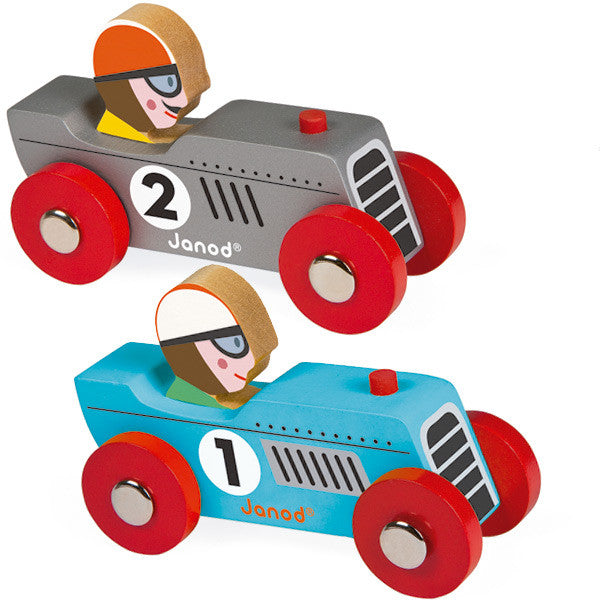 Retro racers - by Janod Toy- La Riviere Confiserie