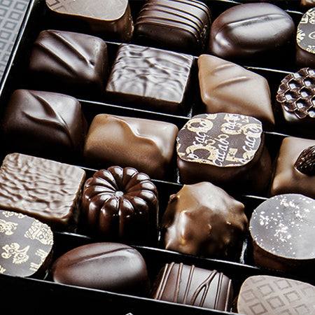 Michel Cluizel Box of Chocolate Truffles - La Riviere Confiserie