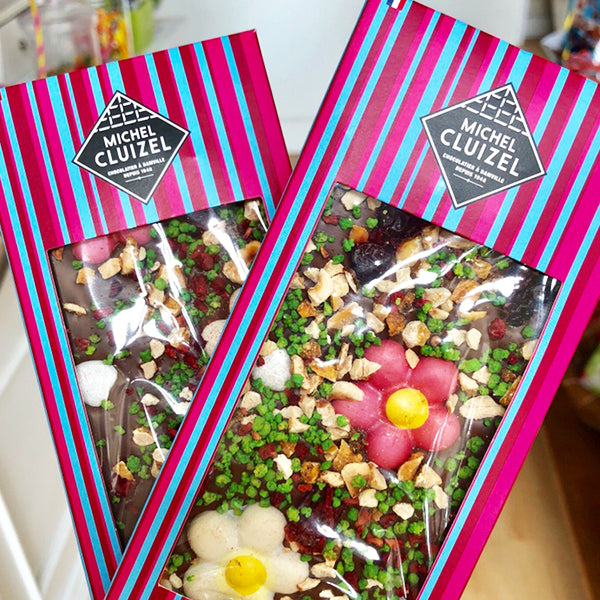 Michel Cluizel Chocolate Bar - Printemps - La Riviere Confiserie