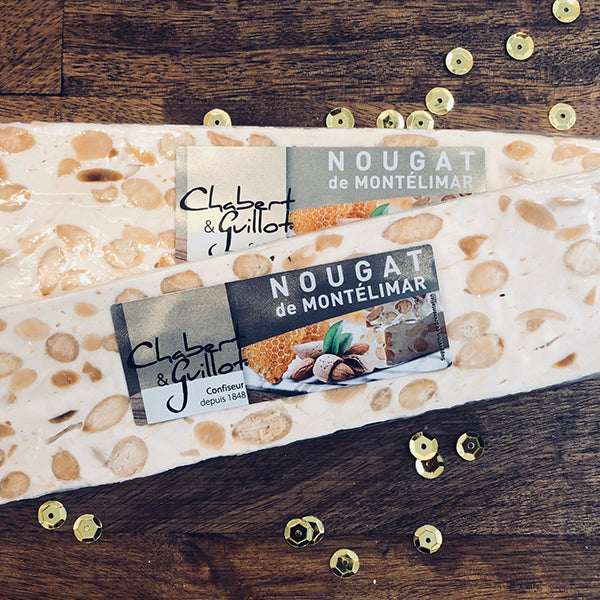 White Nougat from Montelimar Candy- La Riviere Confiserie