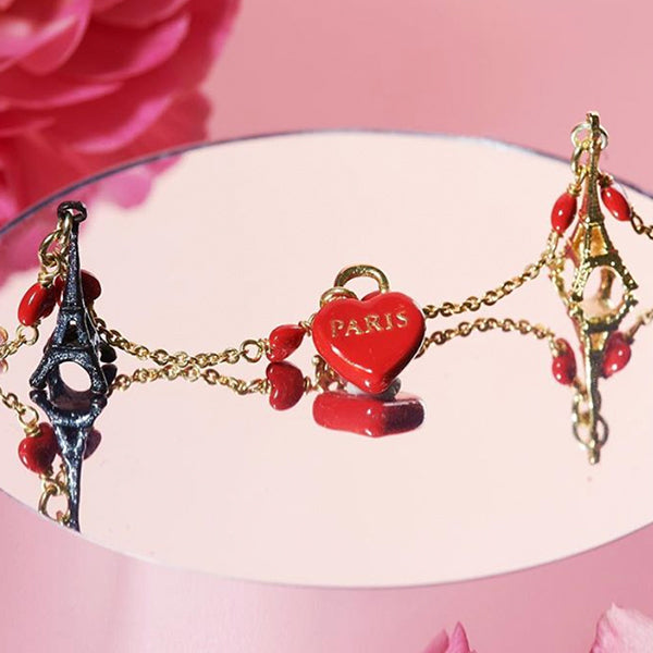 Les Nereides From Paris with Love Bracelet - La Riviere Confiserie