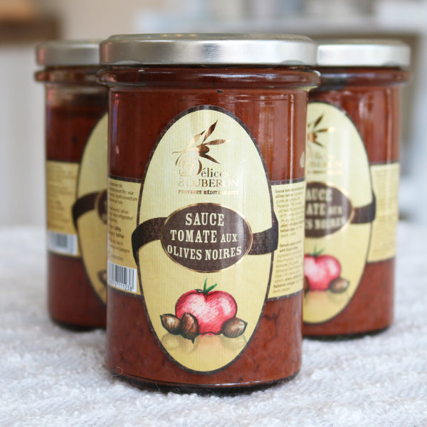 Tomato Sauce with Black Olives - La Riviere Confiserie