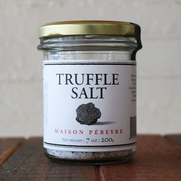 Truffle Salt --Sold Out - back January 2019 - La Riviere Confiserie
