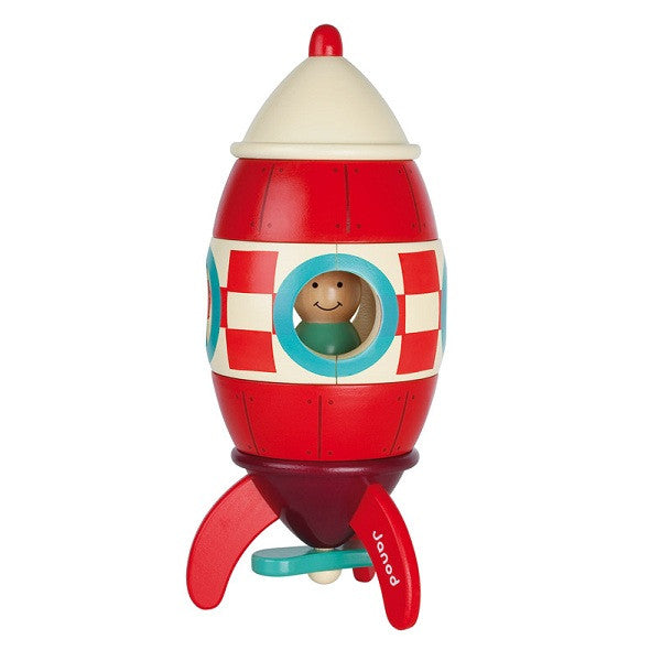 Rocketman - Kit Magnet by Janod Toy- La Riviere Confiserie