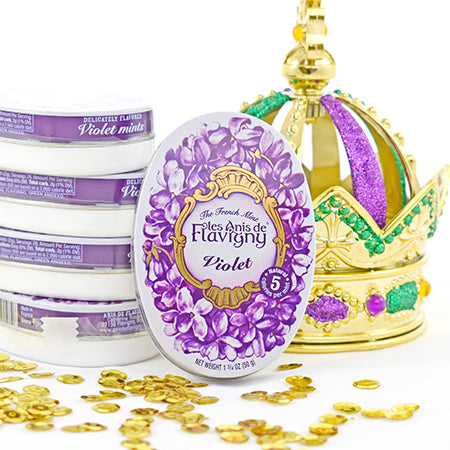 Les Anis de Favigny (The French Mint) - Violet, Lemon, Rose - La Riviere Confiserie